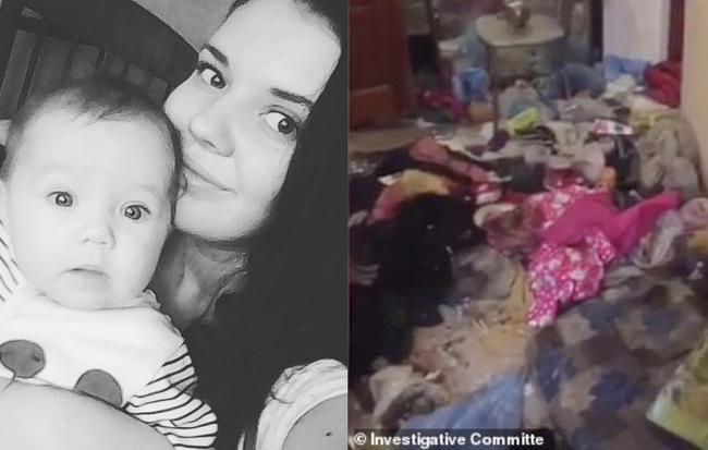 Bé gái 3 tuổi bị bỏ đói đến nỗi phải ăn bột giặt rồi qua đời trong lúc mẹ đi tiệc tùng 1 tuần, hiện trường vụ án gây phẫn nộ - Hình 1