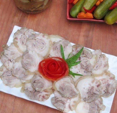 Cách làm món thịt chân giò ngâm mắm thơm ngon ăn là mê - Hình 1