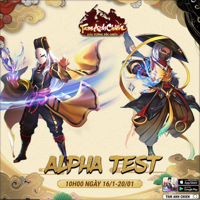 Game đấu thẻ tướng anime Tam Anh Chiến công bố lộ trình thử nghiệm - Hình 1