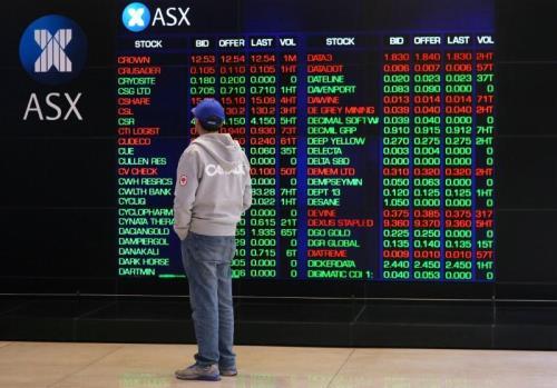 Hầu hết các thị trường chứng khoán châu Á giảm điểm - Hình 1