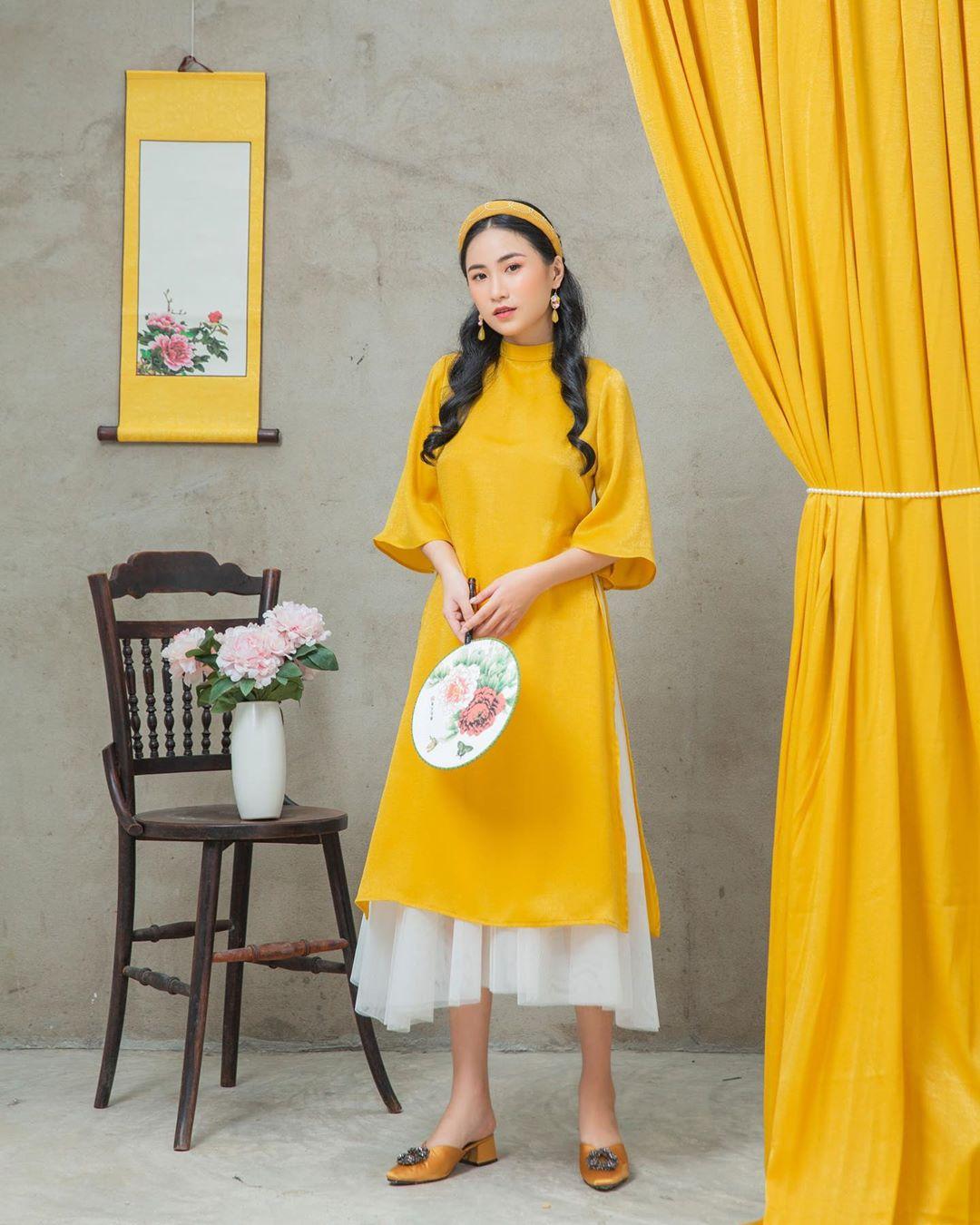 Phụ kiện retro - mảnh ghép hoàn hảo cho tà áo dài ngày Tết - Hình 8