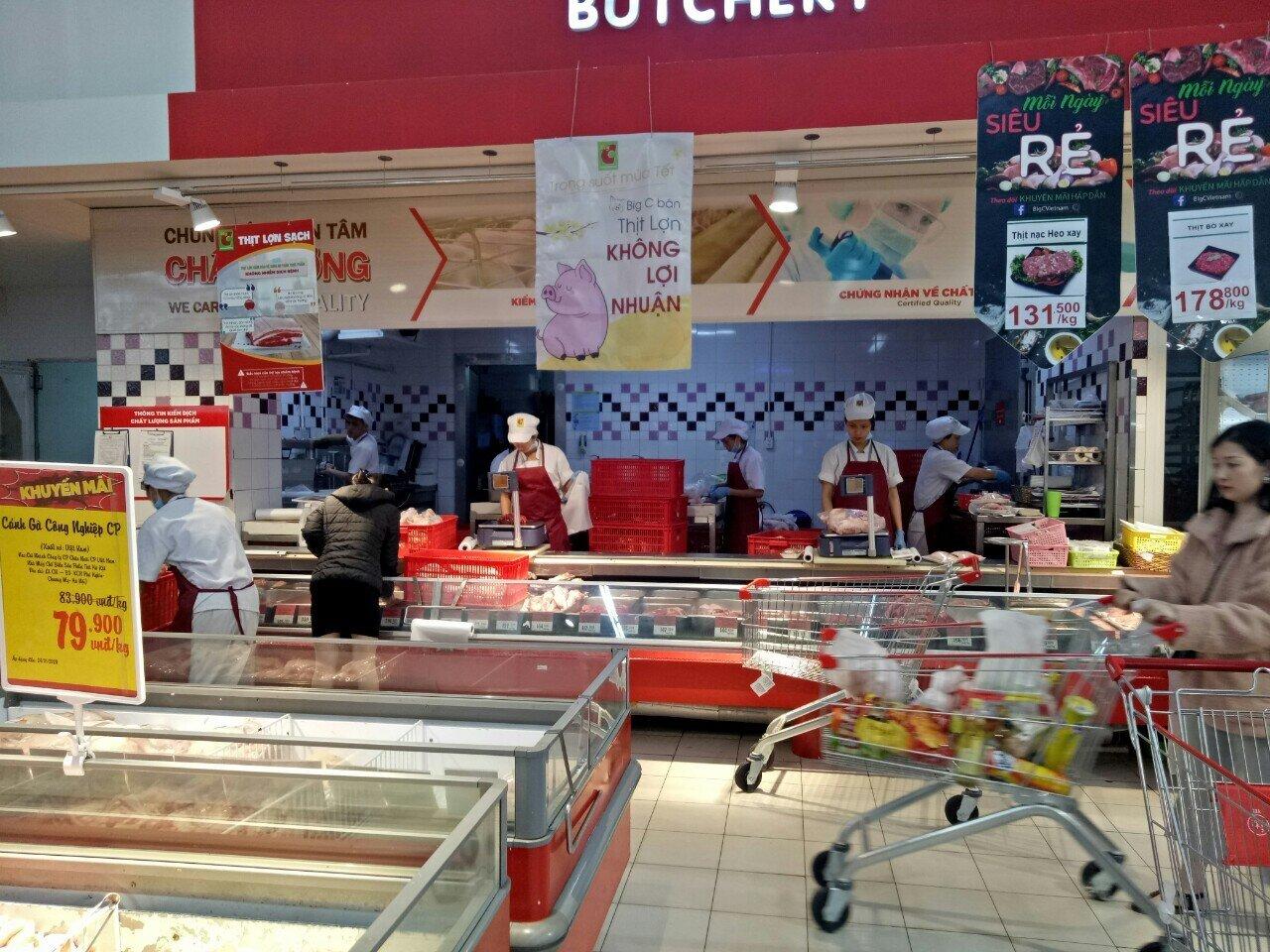 Thịt lợn nhập khẩu giá 30.000-.35.000 đồng/kg đang bán ở đâu? - Hình 1