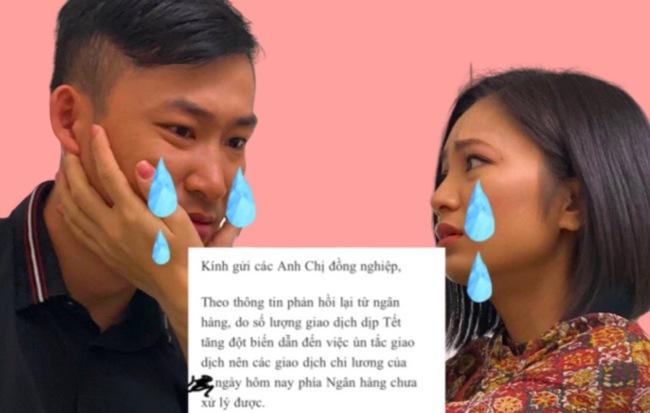 Drama cuối năm: Một công ty lớn chậm lương Tết với lý do ngân hàng tắc nghẽn, nhân viên chỉ biết kêu ca khóc ròng - Hình 1