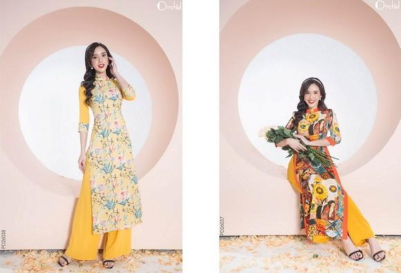 Mách nhỏ chị em sắm áo dài Tết ghé qua thời trang Orchid sale 30% - 60% - Hình 3
