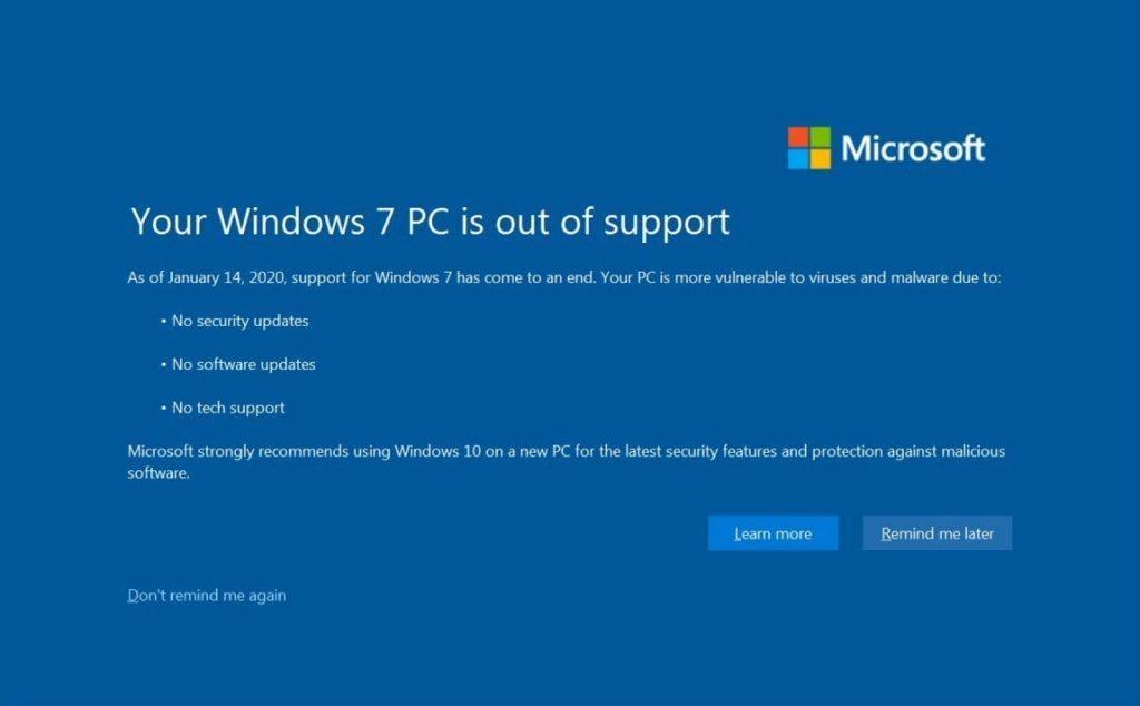 Người dùng trung thành Windows 7 đã có thể tắt vĩnh viễn thông báo nâng cấp Windows 10 hiện kín màn hình - Hình 1