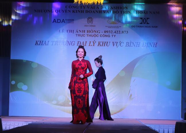 NTK Ánh Hồng và nguồn cảm hứng vô tận với áo dài Việt Công Lý - Hình 3