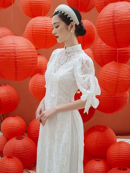 3 kiểu áo dài cách tân hot nhất 2020 được sao Việt lăng xê - Hình 8