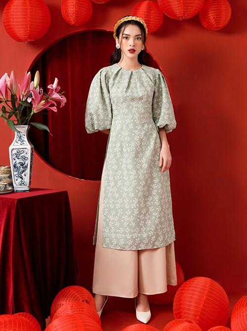 3 kiểu áo dài cách tân hot nhất 2020 được sao Việt lăng xê - Hình 4