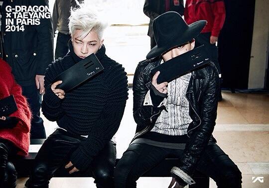 G-Dragon và Taeyang - bộ đôi chất ngầu tại các sự kiện thời trang - Hình 3