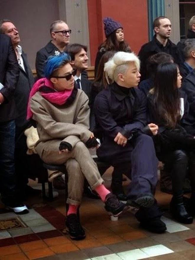 G-Dragon và Taeyang - bộ đôi chất ngầu tại các sự kiện thời trang - Hình 9