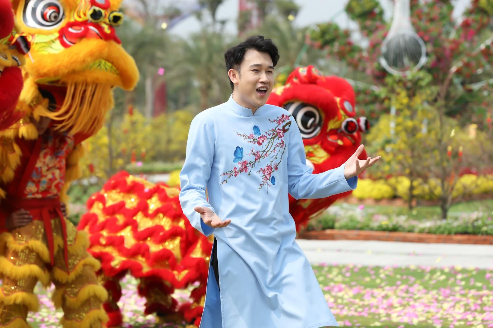 Dương Triệu Vũ 'tươi rói' trong bộ ảnh đón Xuân, bật mí kế hoạch Tết Canh Tý - Hình 2