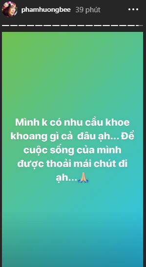 Phạm Hương kêu cứu vì bị nhiều người làm phiền, chỉ trích lối sống khoe khoang - Hình 1