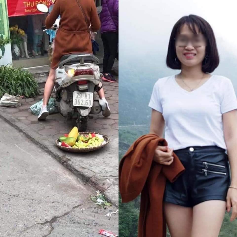 Nhan sắc cô chủ shop quần áo chạy xe cán lên mâm hoa quả của bác bán hàng chỉ vì ngồi gần vỉa hè ngày 27 Tết: Nhìn cũng dễ thương, hiền lành - Hình 11