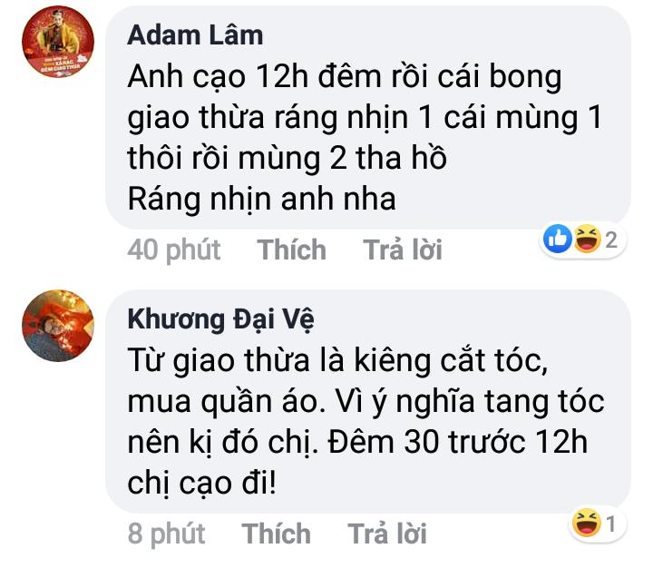 BB Trần thắc mắc đầu năm có nên cạo râu không, và đây là giải đáp của loạt sao Việt khiến fan cười bò - Hình 5