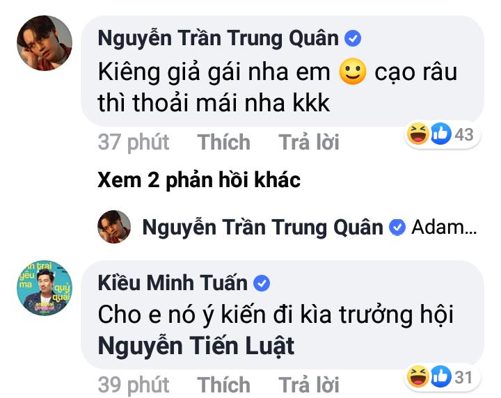 BB Trần thắc mắc đầu năm có nên cạo râu không, và đây là giải đáp của loạt sao Việt khiến fan cười bò - Hình 4