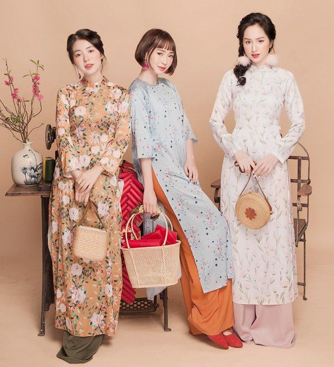 Mặc áo dài du xuân mà bỏ qua 5 phụ kiện này, chị em khó mà lên đời phong cách - Hình 15