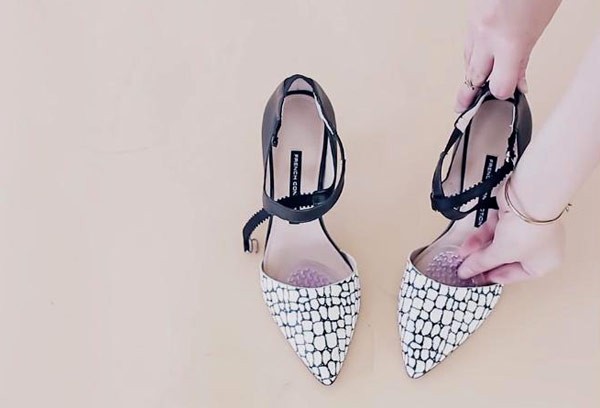 5 mẹo đối phó với giày cao gót - Hình 5