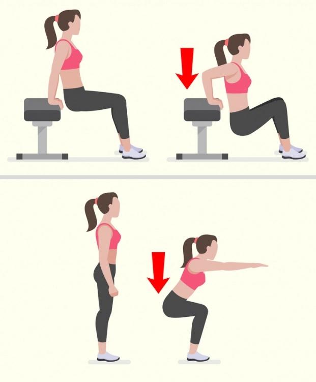 Cách xác định vị trí tích mỡ thừa của cơ thể và loại bỏ mỡ hiệu quả - Hình 8