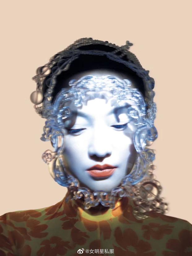 Loạt mỹ nhân châu Á thi nhau diện mặt nạ dị: Châu Tấn gây ám ảnh, Nghê Ni và người tình tin đồn G-Dragon thần thái xuất chúng - Hình 1