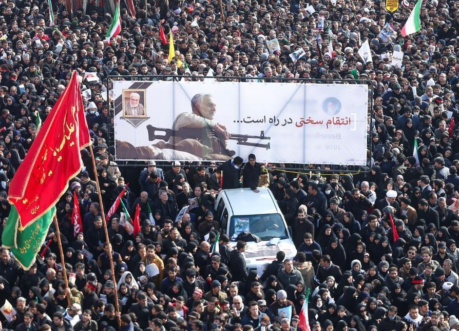 Vụ không kích giết tướng Iran: Tư tưởng chống Mỹ tụ hội? - Hình 1