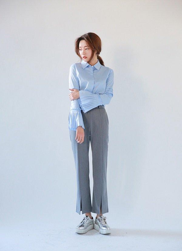 Khéo chọn áo sơ mi cách điệu, phong cách đi làm của chị em sẽ bớt nhàm chán hơn nhiều - Hình 8