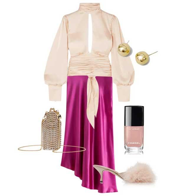 Những gợi ý set trang phục lấp lánh ánh sao hợp dịp lễ tết - Hình 3