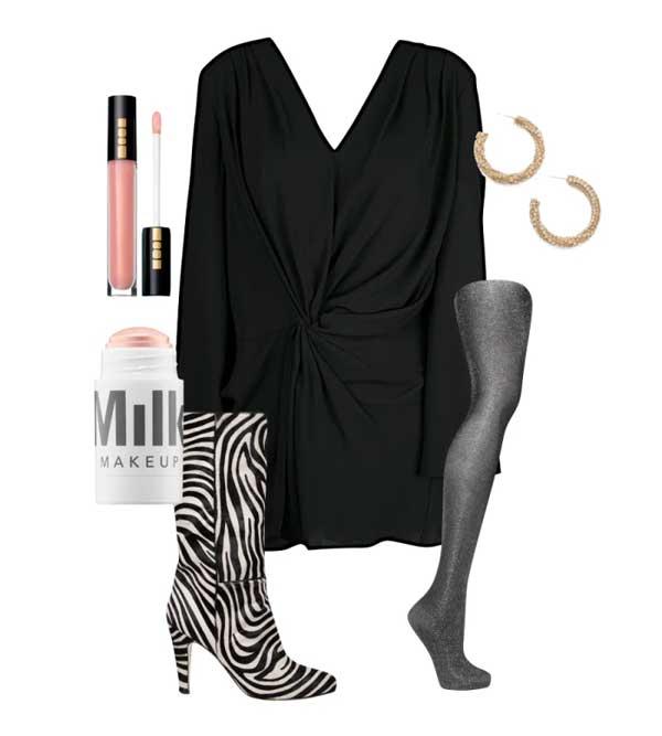 Những gợi ý set trang phục lấp lánh ánh sao hợp dịp lễ tết - Hình 5