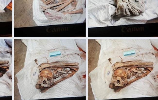 Vụ phát hiện 2 bộ xương người trong lô cao su ở Tây Ninh: Công an phát hiện thêm 7 bộ xương khác - Hình 1