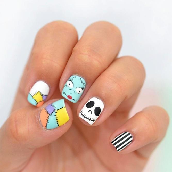 15 mẫu sơn móng tay độc đáo cho ngày Halloween - Hình 3