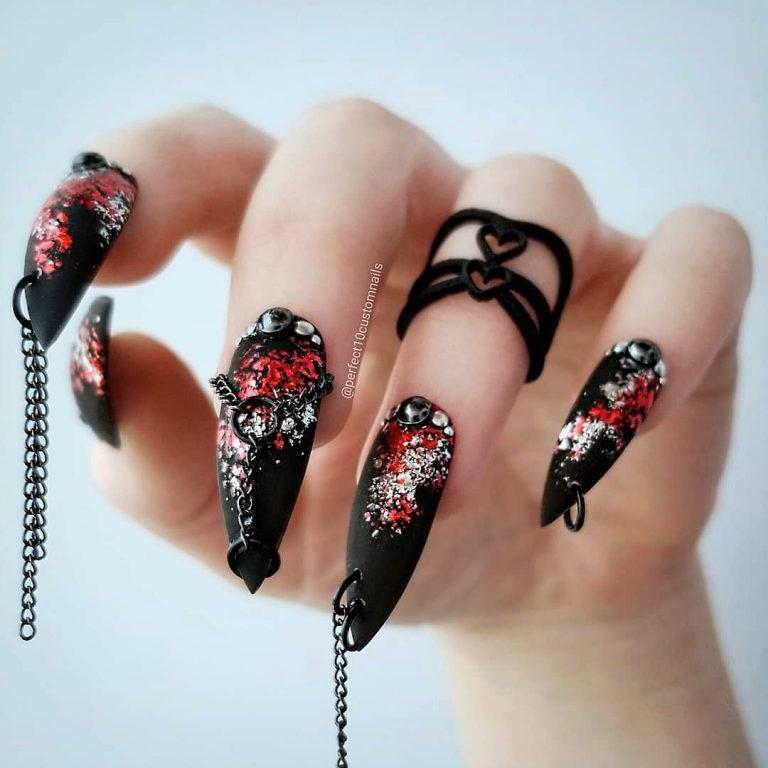 15 mẫu sơn móng tay độc đáo cho ngày Halloween - Hình 13