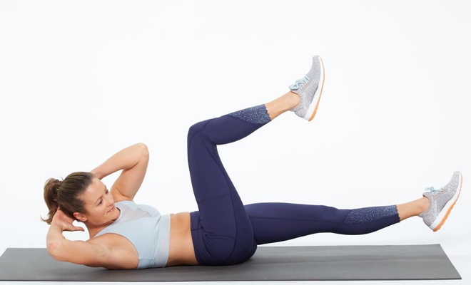 Bài tập làm săn chắc da vùng bụng sau khi giảm cân - Hình 2