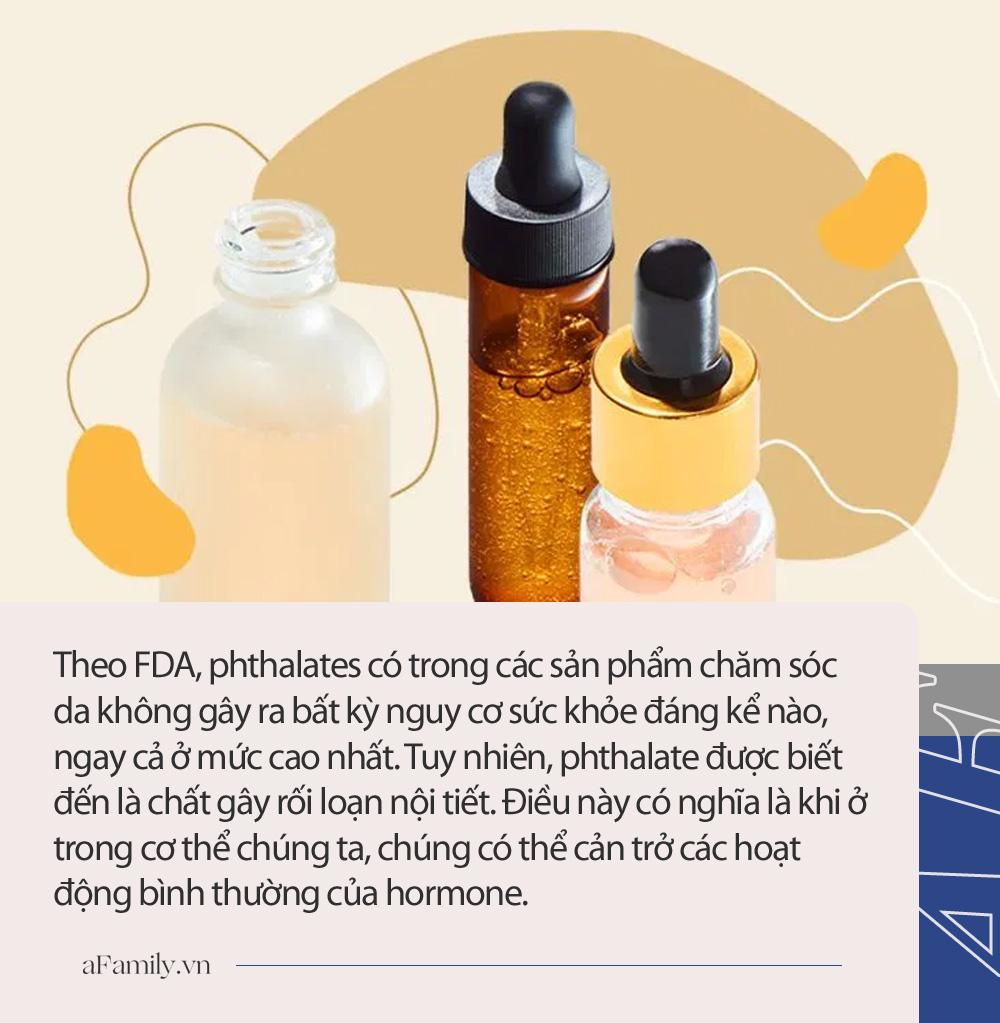 Cảnh báo: 5 hóa chất độc hại có thể ẩn nấp trong đó các sản phẩm chăm sóc da, tích lũy nhiều gây viêm da, rối loạn nội tiết, ung thư - Hình 4