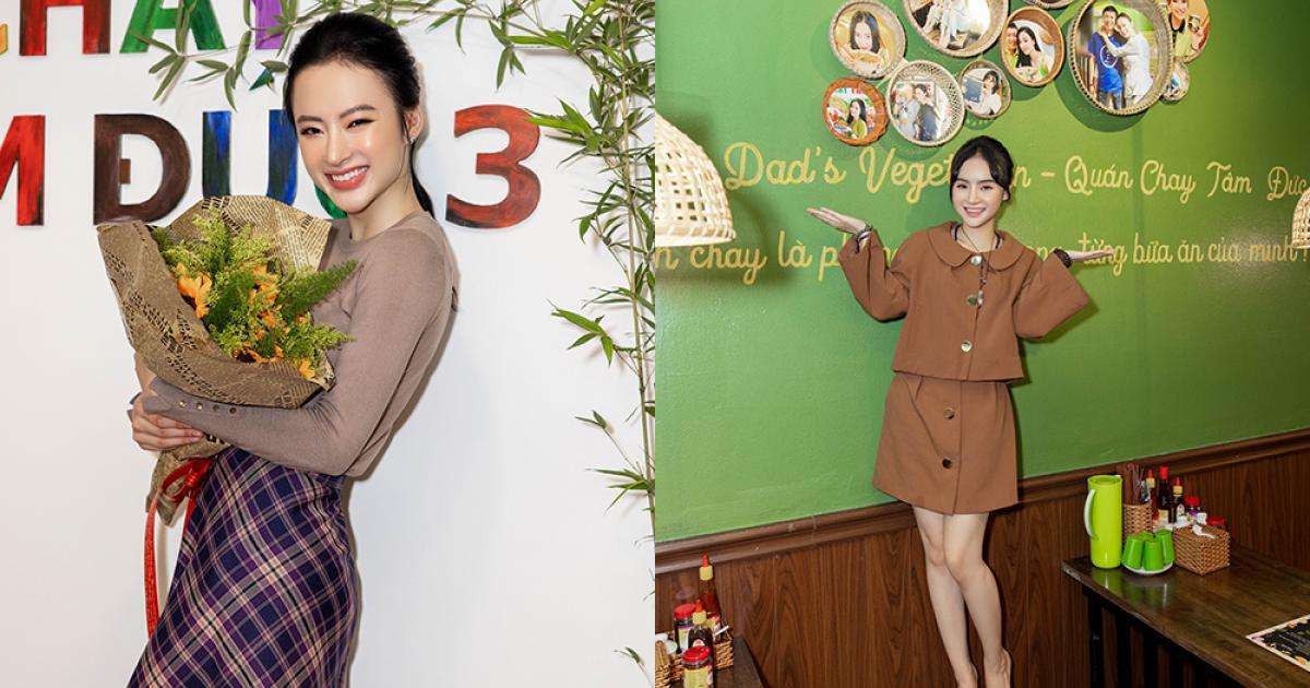 Chị em Angela Phương Trinh mở quán chay thứ ba