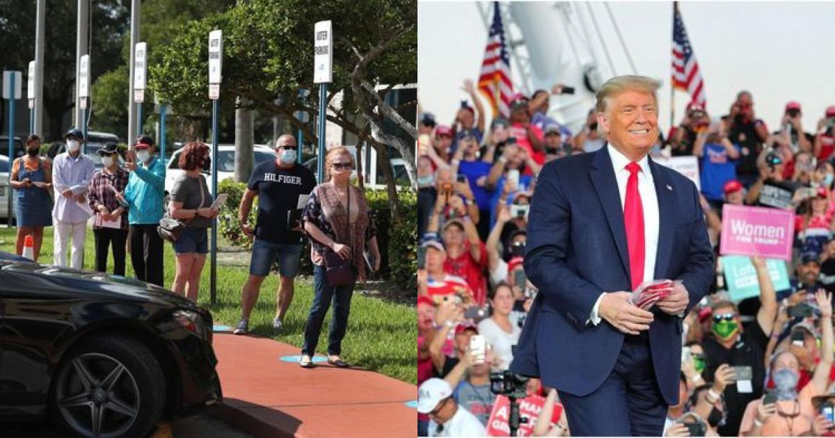 Tin mới nhất về bầu cử Mỹ 2020: Bất ngờ với điều chưa từng có