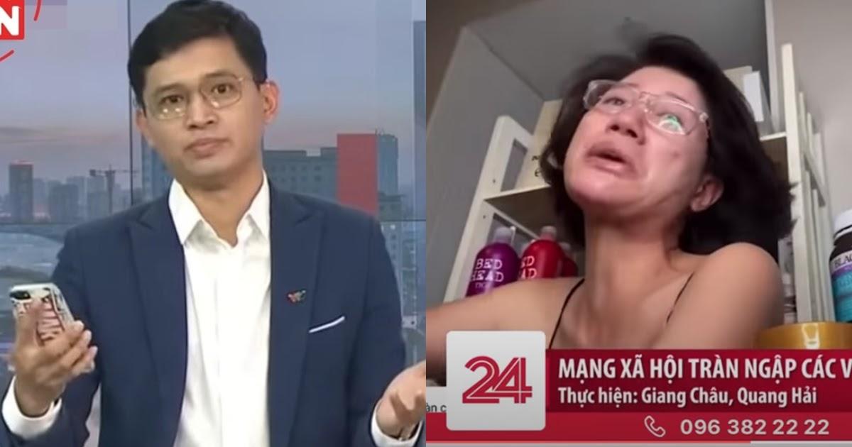 """Phản ứng của """"Thánh chửi"""" Trang Trần khi bị đài VTV đưa lên sóng truyền hình vì Livestream phản cảm"""