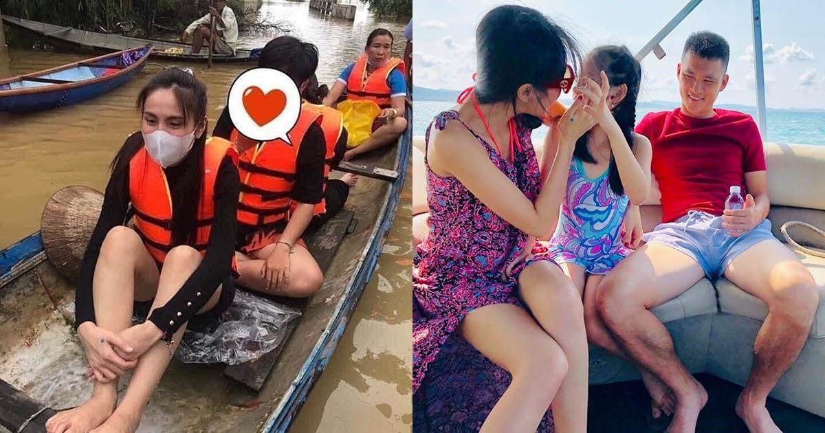 """Đang đi từ thiện miền Trung, Thủy Tiên bất ngờ tuyên bố với Công Vinh: """"Nếu 2 đứa có bất trắc sẽ ra đi cùng con"""""""
