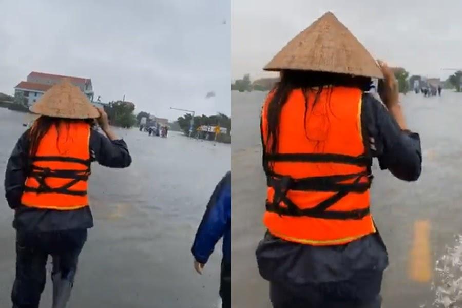 Thủy Tiên hoảng loạn: Quảng Bình lụt thành biển, tiếp cận nhà dân cứu được 2 em bé mắc kẹt - Hình 8