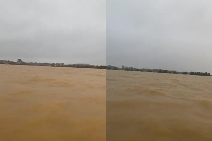 Thủy Tiên hoảng loạn: Quảng Bình lụt thành biển, tiếp cận nhà dân cứu được 2 em bé mắc kẹt - Hình 5