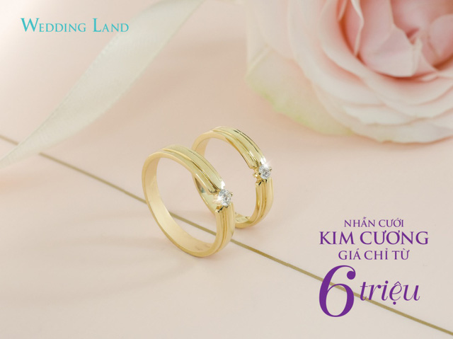 Nhận quà tặng khủng khi mua nhẫn cưới kim cương 6 triệu đồng - Hình 3