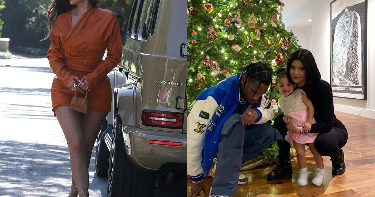 Kylie Jenner khoe vòng ba với váy bó