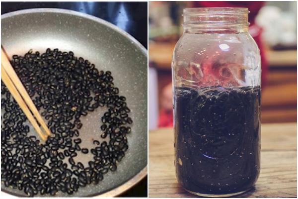 5 ly nước đen thui nhưng dưỡng nhan ngang nhân sâm: Có nước đậu đen - Hình 2