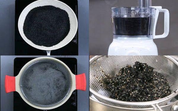 5 ly nước đen thui nhưng dưỡng nhan ngang nhân sâm: Có nước đậu đen - Hình 3
