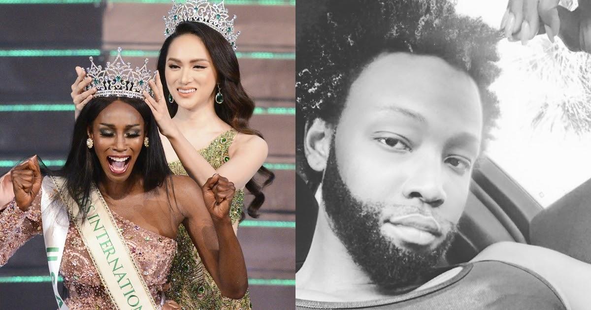 Hoa hậu chuyển giới kế nhiệm Hương Giang gây sốc khi để râu xồm xoài, trở lại làm đàn ông