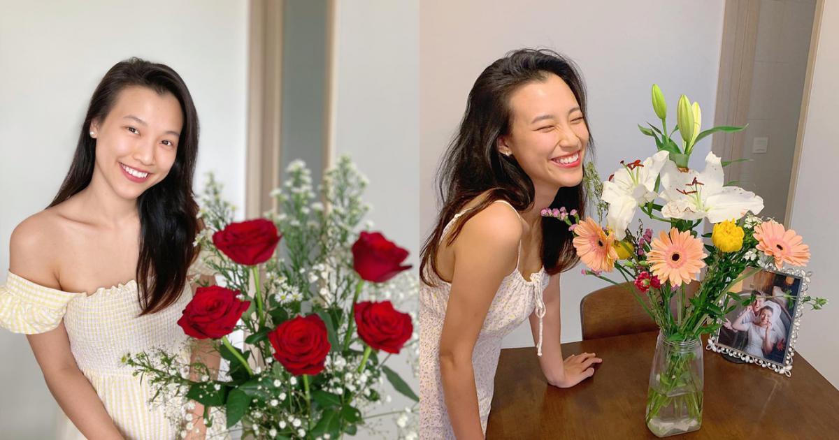 Hoàng Oanh khoe khoảnh khắc hạnh phúc bên gia đình ở Singapore, vóc dáng mẹ bỉm sau 3 tháng sinh nở gây chú ý