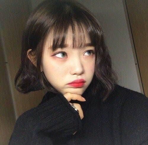 30 kiểu tóc ngắn tóc mái Thêm vẻ đáng yêu cho cô gái có đôi má phúng phính! - Hình 23