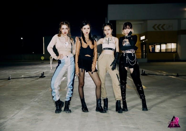 Quinz (Z-Girls) bắt tay B-Wild hút hồn Blink với bản Dance Cover Lovesick girls - Hình 7