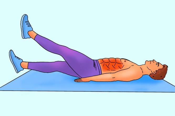 10 động tác tập bụng tại nhà để nam giới sở hữu thân hình 6 múi - Hình 10