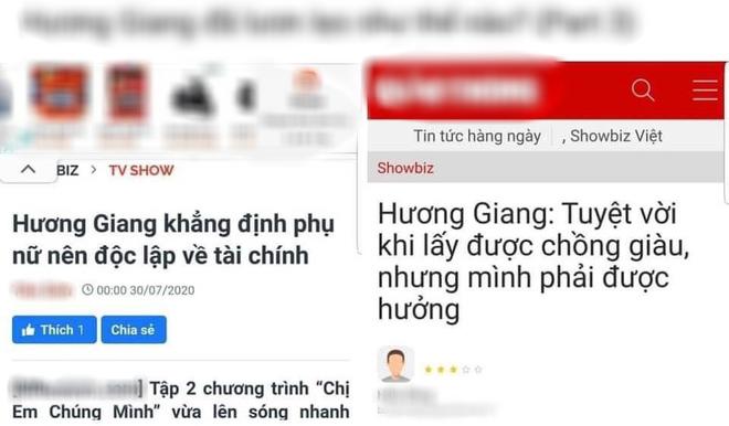 """Hương Giang """"vượt mặt"""" Phạm Hương trở thành Hoa hậu bị ghét nhất showbiz: Chuyên nói đạo lý, sống 2 mặt?"""