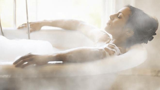 Tắm nước nóng giúp giảm cân - Hình 1