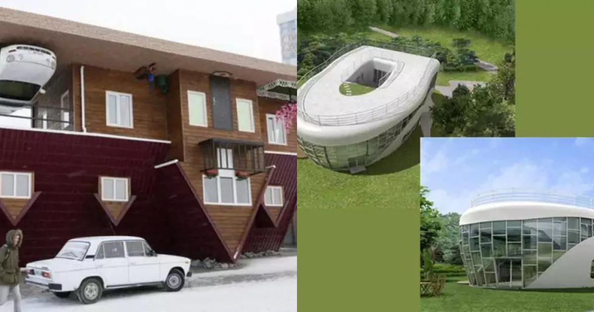 10 ngôi nhà độc lạ có một không hai trên toàn cầu, ai cũng trầm trồ kinh ngạc